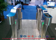 Industrial Swinging Speedgate Turnstile Access Control For Public Areas