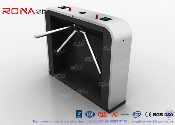 Reliable Easy Tripod Turnstile Gate Solution 35 Persons per Min Passing Speed