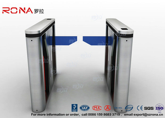LED Indicator Drop Arm Barrier Turnstile Pedestrian Access Control 4 Pair Infrared